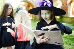 Произношение по буквам хеллоуина Стоковая Фотография