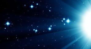 проиллюстрированная вселенный Стоковая Фотография RF