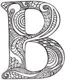 проиллюстрированное письмо иллюстрация штока