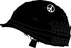 проиллюстрированный шлем Стоковое Фото