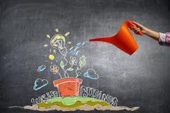 Проинвестируйте ваши деньги для того чтобы получить доход Мультимедиа Мультимедиа Стоковая Фотография