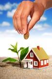 Проинвестируйте в недвижимости. стоковые фото