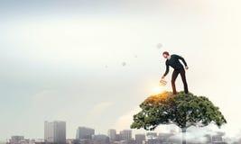Проинвестируйте справедливо на лучшее будущее Мультимедиа стоковое фото rf