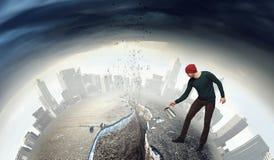 Проинвестируйте справедливо на лучшее будущее Мультимедиа стоковая фотография