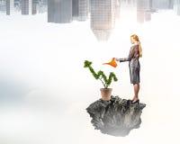 Проинвестируйте для того чтобы увеличить ваши доходы Мультимедиа Мультимедиа стоковое изображение rf