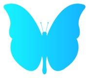 Проиллюстрированный значок бабочки иллюстрация штока