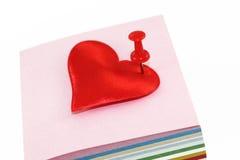 прокалыванное сердце Стоковая Фотография RF
