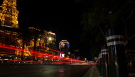 Прокладка в Лас-Вегас & свободе стоковые фото