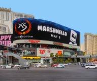 Прокладка Лас-Вегас, казино курорта гостиницы Голливуда Стоковые Изображения RF