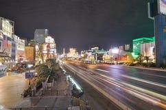 Прокладка Лас-Вегас, прокладка, район метрополитена, дорога, метрополия, город стоковые изображения