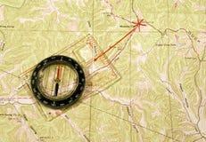 прокладка маршрута Стоковое Изображение RF
