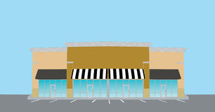 прокладка розницы мола бесплатная иллюстрация