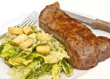 прокладка стейка салата цезаря Стоковые Фотографии RF