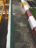 Прокладка цвета на тротуаре Стоковое Изображение