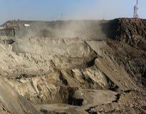 прокладка шахты открытая стоковые изображения rf