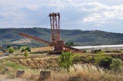 прокладка шахты estenditore Стоковое Фото