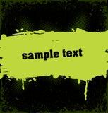 прокладка grunge капли экземпляра знамени inky Стоковое фото RF