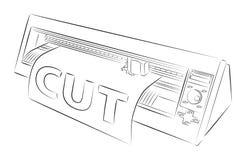 прокладчик вырезывания Стоковые Изображения RF