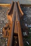 прокладывает рельсы railway Стоковое фото RF