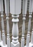 прокладывать рельсы столбов Стоковое фото RF