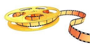 прокладка золота пленки Стоковые Фотографии RF