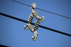 Прокладка кабеля Стоковое Изображение