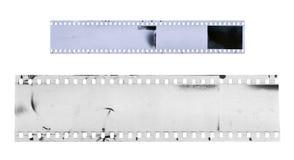 Прокладка старого фильма целлулоида с пылью и царапинами Стоковое Изображение RF