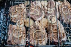 прокладка стейков стейка нервюры loin решетки delmonico Стоковые Изображения