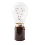 Прокладка II электрической лампочки и фильма стоковое фото