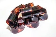прокладка 35mm изолированная пленкой Стоковое Изображение RF