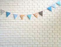 Прокладки флага пастельного цвета партии Стоковая Фотография RF