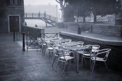 проливной дождь venice Стоковое Изображение RF