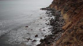 Пролив тартара приливной скважины видеоматериал