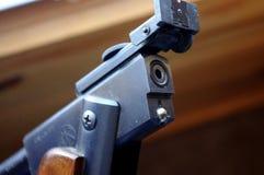 Пролом винтажной винтовки лепешки модели 36 RWS открытый стоковые фотографии rf