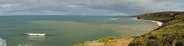 пролом колоколов пляжа стоковое изображение rf
