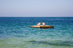 пролом пляжа Стоковые Фото
