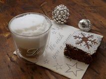 Пролом coffe рождества Стоковая Фотография RF