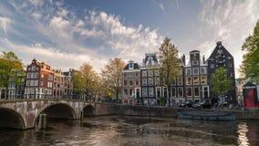 Промежуток времени Амстердама сток-видео