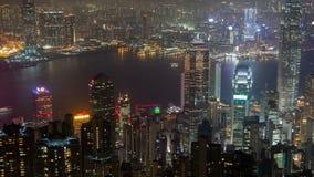 Промежуток времени Гонконга Лоток вверх акции видеоматериалы