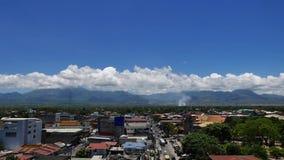 Промежуток времени 06 горизонта города Dumaguete сток-видео