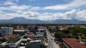 Промежуток времени 05 горизонта города Dumaguete видеоматериал