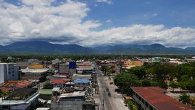 Промежуток времени 04 горизонта города Dumaguete акции видеоматериалы