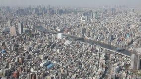 Промежуток времени горизонта токио сток-видео