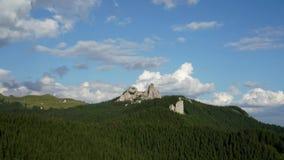 Промежуток времени гор Rarau, Румыния видеоматериал