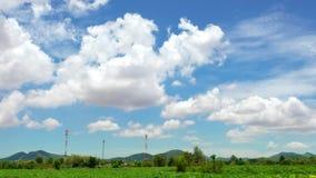 Промежуток времени двигать облака или погоды дневного времени акции видеоматериалы