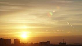 Промежуток времени земли восхода солнца сток-видео