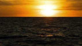 Промежуток времени ландшафта захода солнца акции видеоматериалы