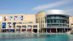 Промежуток времени мола Дубай акции видеоматериалы