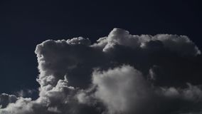 Промежуток времени облака сток-видео