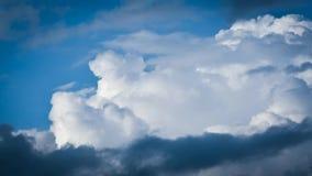 Промежуток времени облаков видеоматериал
